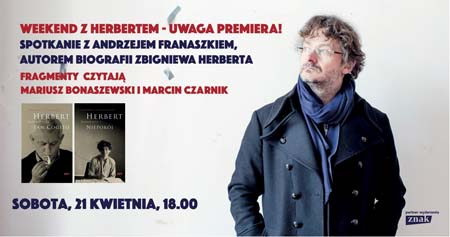 Weekend ze Zbigniewem Herbertem w Big Book Cafe